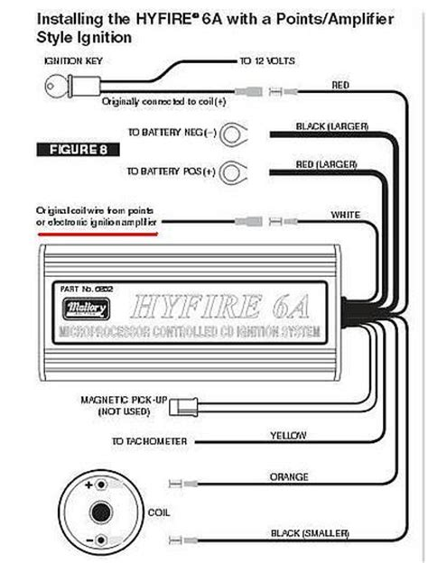 mallory hyfire 6al wiring wiring diagram pictures