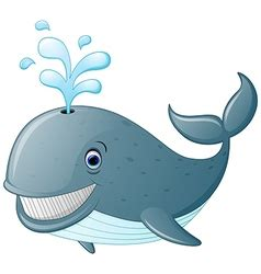 whale cartoon royalty  vector image vectorstock