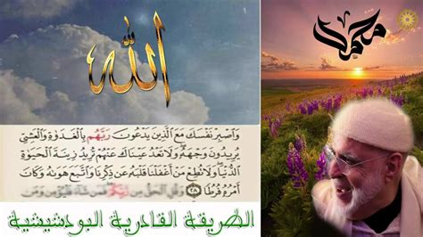 الله بالمصطفى الهادي