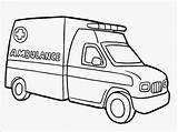 Ambulance Coloring Pages Realistic Titan Posted Popular sketch template