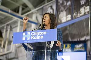 US election 2016: Michelle Obama blasts Trump for birther ...