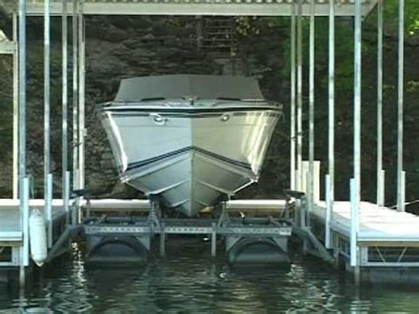 Boat Lift Float And Drop In Place by Hydrohoist Ultralift 2 Series Doovi