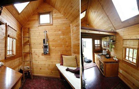 Tiny Häuser Innen by Wohntrend Leben Im Mini Haus Acht Quadratmeter Gl 252 Ck