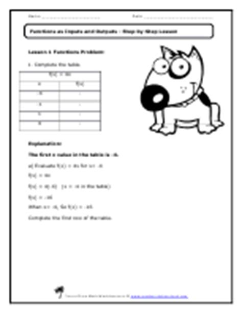eighth grade math worksheets