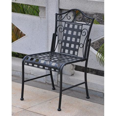 wrought iron 3 patio bistro set in antique black