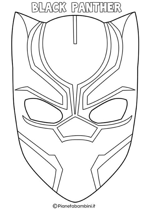 maschere  supereroi da colorare  bambini supereroi