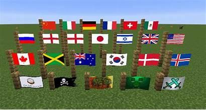 Minecraft Mod Banner Flagged Flag British Mods