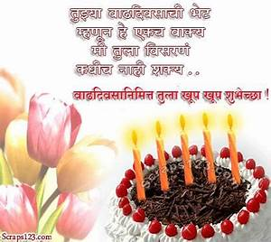 Happy birthday wishes for friend message in marathi