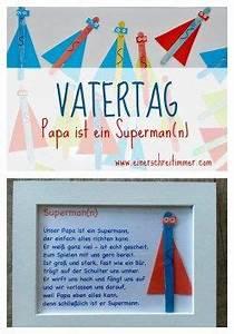 Vatertag Basteln Grundschule : vatertag geschenk ultraschnelles diy papa ist unser superheld diy f r und mit kinder n ~ Frokenaadalensverden.com Haus und Dekorationen