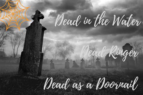 dead idioms dead ringer dead   water