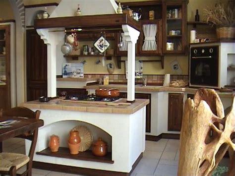 cocina  isla rustica hoy lowcost