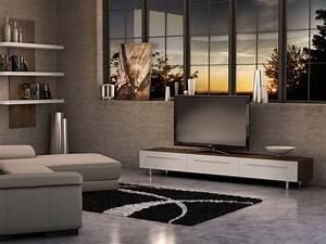 Createch Design Home Entertainment Unit The