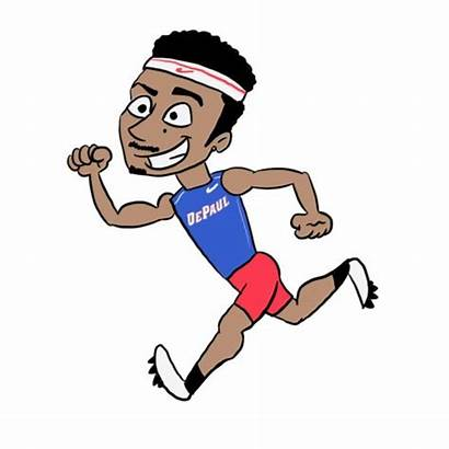 Athlete Track Animation Career Cancer Sports Dreams