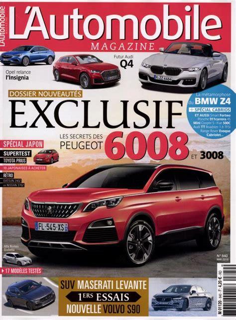 l automobile magazine l automobile magazine n 176 840 abonnement l automobile magazine abonnement magazine par