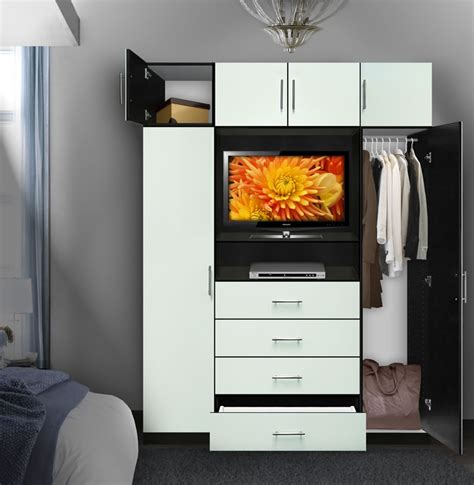 aventa bedroom tv armoire  tall contempo space