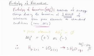 Ap Chem Enthalpy Of Formation