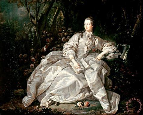 francois boucher madame de pompadour painting madame de pompadour print for sale