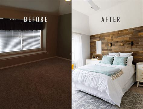 Bedroom Makeovers : 10 Bedroom Makeovers-transform A Boring Room Into A