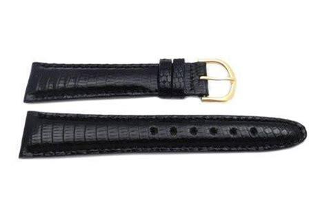 coach watch repair form seiko black genuine java lizard 20mm watch strap ms9436