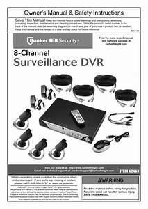 Bunker Hill Security Wireless Camera Rf Detector Manual