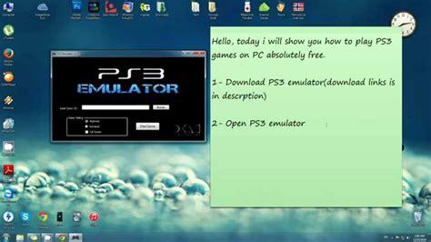 Psx3 Emulator Download For Windows 7 32bit Top 5 Free