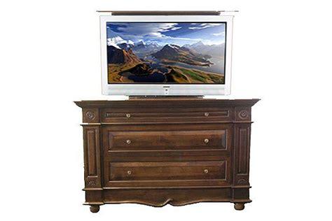 tv lift bedroom furniture tv lift cabinet with dresser andaluz tv lift cabinet