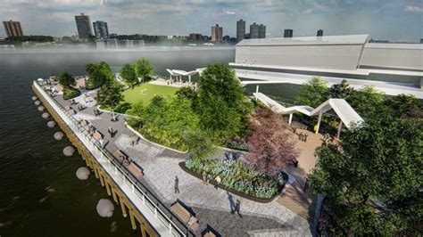 hudson river park trust reveals  renderings  pier