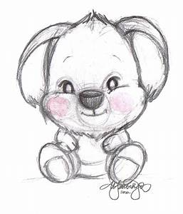 Baby Koala Drawing at GetDrawings.com | Free for personal ...