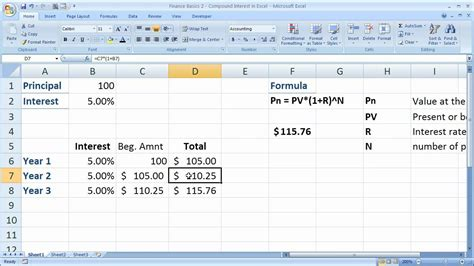 compound interest excel template compound interest calculator spreadsheet buff