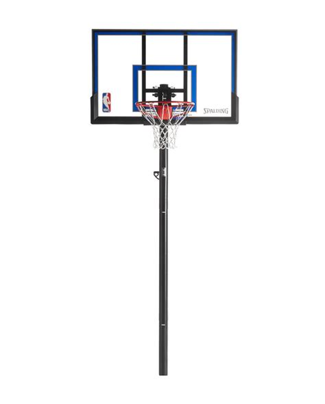 spalding exactaheight  ground basketball hoop system