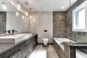 Salle De Bain Moderne 2017 : exemple de salle de bain moderne ~ Melissatoandfro.com Idées de Décoration
