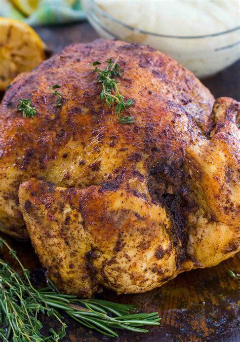 Instant Pot Whole Chicken Recipe. Fresh or Frozen [Video ...