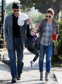 Amy Adams and partner Darren Le Gallo have their hands ...