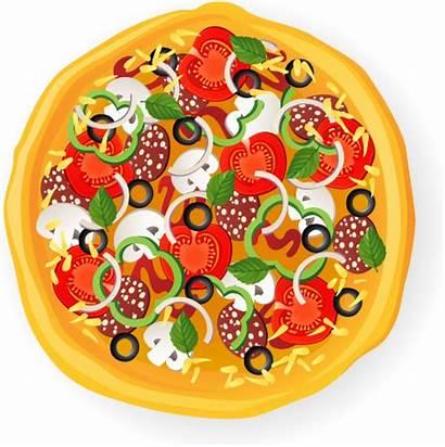 Pizza Vector Illustration Delicious Svg Graphic Illustrator
