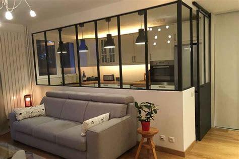 verriere d interieur castorama separation cuisine salon vitree maison design bahbe