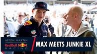 The Racing Collection | Max Verstappen meets music legend ...
