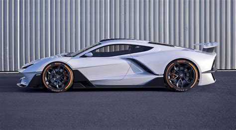 American Hybrid Cars by Fxe Is A Knife Edged American Hybrid Supercar