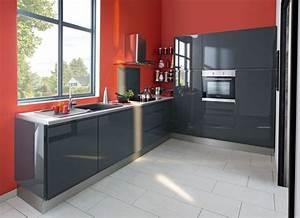 Poignée Meuble Cuisine Brico Depot : cuisine grise brico depot table de lit ~ Mglfilm.com Idées de Décoration