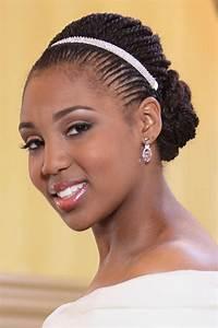 5 Breathtaking Wedding Braided Hairstyles for black women Cruckers
