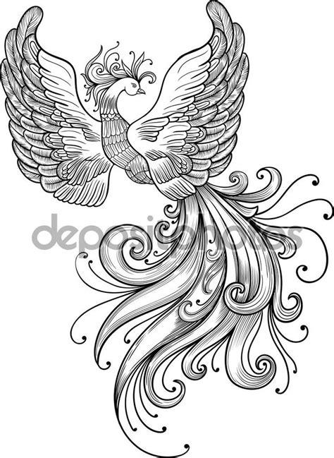 Firebird vector clipart — Stock Illustration #108198036