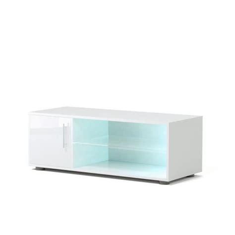 Tele 100 Cm Meuble Tele Blanc Laque 100 Cm Achat Vente Pas Cher