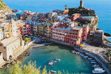 Vernazza Italy Cinque Terre Barefoot Blonde By Amber