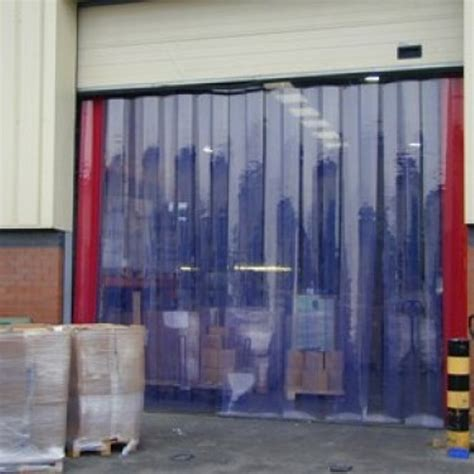 pvc curtain the ideal factory and warehouse entrance