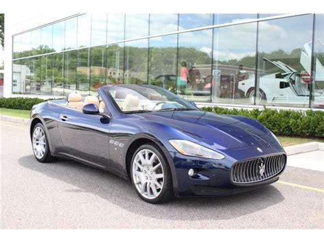 2012 maserati gt convertible for sale gc 18573 gocars