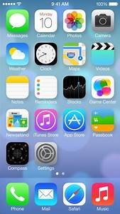 iOS 7 Feature: Redesigned Home Screen