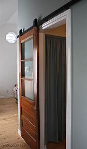 Client diaries jess brad union jack master bedroom for Barn style door track system