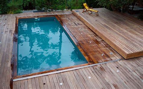 mobile terrasse pool terrasse mobile movingfloor 224 cap ferret terrasse mobile piscine pc hus