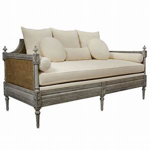 french country daybed cane sofa vintage 5 oh so sweet With country sofa bed