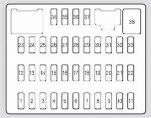 Acura Rdx  2006 - 2008  - Fuse Box Diagram