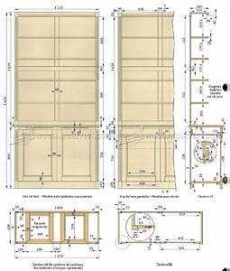 Built-In Bookcase Plans • WoodArchivist